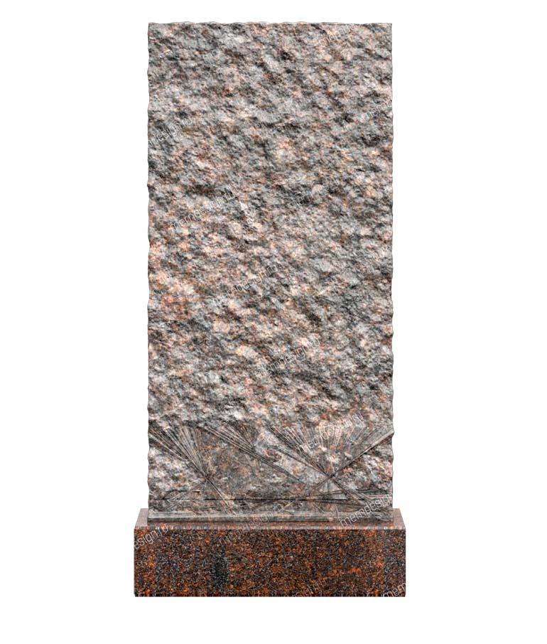 Ваза. Лезниковский гранит Долгопрудный Эконом памятник Волна в камне Трубная